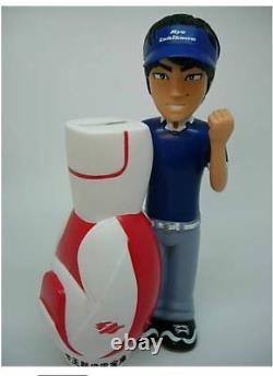 NEW Ryo Ishikawa Golf bag Saving bank Figure Doll piggy money box plastic RARE