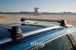 NEW VW MK7 GOLF Sportwagen Roof Carrier Bars AND Sport Rack SR7018 Cargo Box