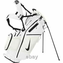 NIKE White 2020 Air Hybrid Carry Stand Cart Golf Bag 14 Way Divider NEW IN BOX