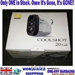 NIKON COOLSHOT 20 GII LASER Golf Rangefinder NEW IN BOX £ FREE POSTAGE £ (UK)