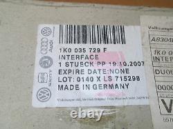 New Genuine Vw Golf Eos Telephone Interface Box 1k0035729f Part