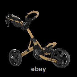 New Golf Clicgear Model 4.0 Golf Push Cart Army Brown New In Box