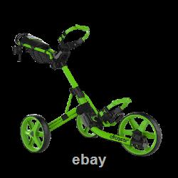 New Golf Clicgear Model 4.0 Golf Push Cart Lime New In Box