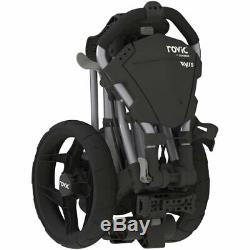 New In The Box Clicgear Rovic Rv1s Swivel 3 Wheel Pull Push Golf Cart