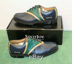 New in Box Footjoy FJ MyJoys ICON Traditional 10 M Style 52041 Custom Golf Shoes