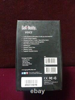 New in box Golf Buddy Voice GPS