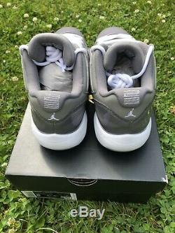 Nike Air Jordan 11 Low Cool Grey Golf sz 8 Brand New In Box. Deadstock