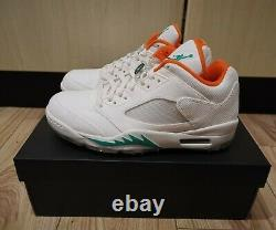 Nike Air Jordan 5 Low G Golf Lucky And Good Size UK8.5 New in Box