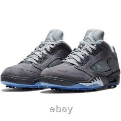 Nike Air Jordan V Low Golf Shoe Men's Size 11 CU4523-005 Wolf Grey New Box NIB