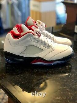 Nike Air Jordan V Low Golf Shoe Size 8.5 NEW IN ORIGINAL BOX