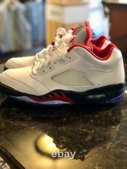Nike Air Jordan V Low Golf Shoe Size 8 NEW IN ORIGINAL BOX