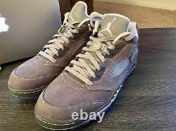 Nike Air Jordan V Low Golf Wolf Grey 11.5 Brand New In Box