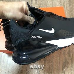 Nike Air Max 270 G Black White CK6483-001 Mens Size 11 Golf Shoes NEW IN BOX