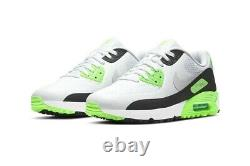 Nike Air Max 90 G Golf Shoes White Flash Lime Sz M 11 CU9978-100 New with Box