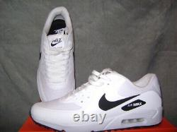 Nike Air Max 90 G White/Black Golf shoes. Size 11.5 Waterproof. New with box