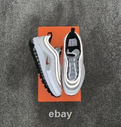 Nike Air Max 97 Golf Silver Bullet UK8/US9 Brand New With Box