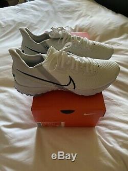 Nike Air Zoom Infinity Tour Golf Shoes Size 11.5 White/Metallic New in Box
