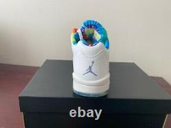 Nike Jordan 5 Retro Low Golf Mens Tie Dye Sz11US BRAND NEW IN BOX