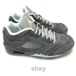 Nike Jordan 5 V Low Golf Wolf Grey Shoes CU4523-005 Mens Size 10 New With Box