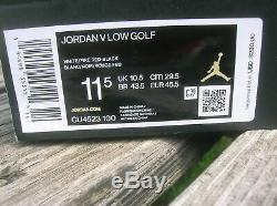 Nike Jordan V Low Golf Low Men's Golf Shoes Size 11.5 New In Box Never Worn