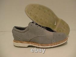 Nike lunar clayton golf shoes grey wolf size 7 us new with box
