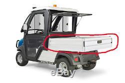 OEM Genuine Club Car Carryall 500 550 Aluminum Cargo Box Golf Cart 102122102 NEW