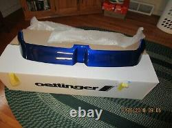 Oettinger Rear Spoiler New In Box Painted By VW To Match 2018 Golf R Blue