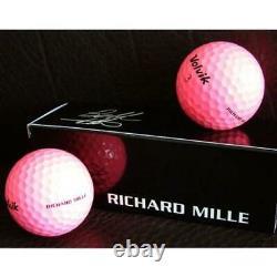 RICHARD MILLE Volvik Golf Ball Set of 3 in Box New