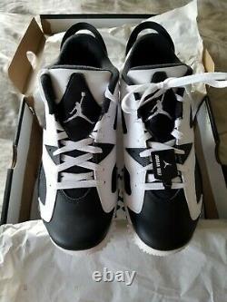 Rare New Size 10 Nike Air Jordan 6 Oreo Golf Shoe withBox