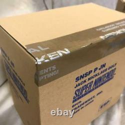 SFC SUPER NINTENDO RUN SABER, JACK NICLAUS GOLF BOX NEW (original outer box)