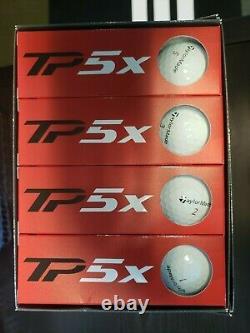 TaylorMade TP5x Golf Balls 2021 New In Box 5-Dozen