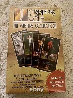 Tiger Woods Rookie 1997/98 GSV Champions Of Golf Masters Box Set Brand New