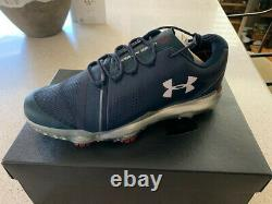 Under Armour Golf Shoes Jordan Spieth-navy Blue-size 9-new In Box-never Worn