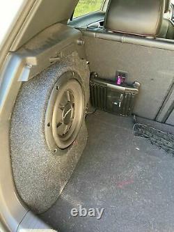 Vw Golf Mk7 12+ New Stealth Sub Speaker Enclosure Box Sound Bass Car Audio 10