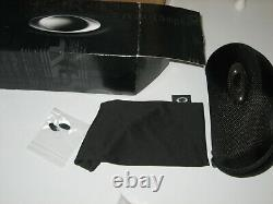 (new) Oakley Asian fit FLAK DRAFT Steel with Prizm Golf Lens (new with box etc)
